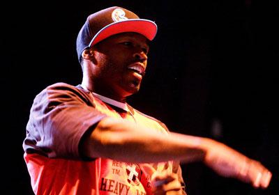"4. Curtis ""50 Cent"" Jackson  $20 million, tie"