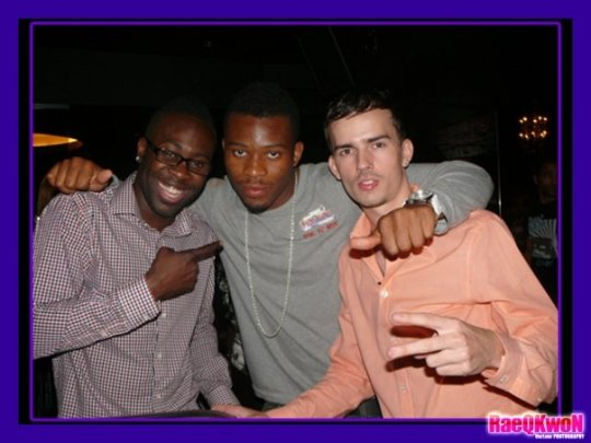 Kojo, Myself & Kevin J @ Crescent Club