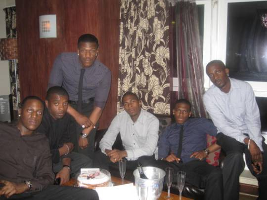 Birthday Mandem Chillin...