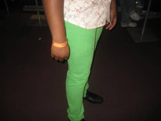 Funmbi's Lucky Trousers.... Never Lets him Down!!