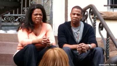 Jay Z And Oprah Spend The Weekend Together In Brooklyn